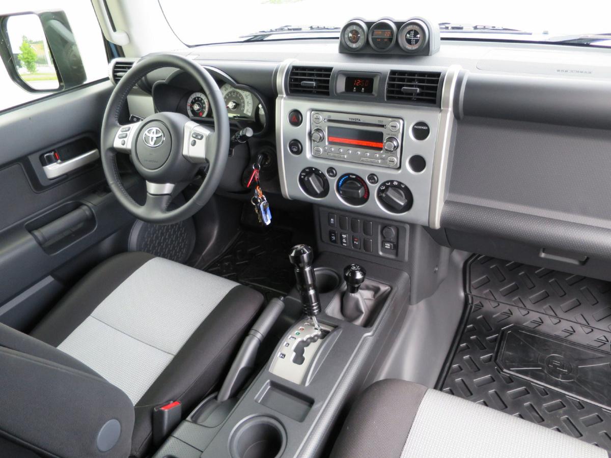 Delightful 2014 Toyota FJ Cruiser Interiot